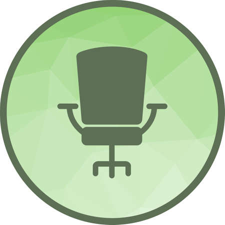 Chair, office, seat icon vector image.Can also be used for office. Suitable for mobile apps, web apps and print media. Ilustrace