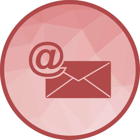 Mail, communication, inbox icon vector image.Can also be used for IT and communication. Suitable for mobile apps, web apps and print media.