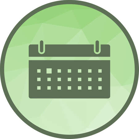 Schedule, calendar, business icon vector image. Can also be used for business management. Suitable for use on web apps, mobile apps and print media. Illustration