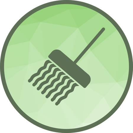 Mop, cleaning, mopping icon vector image.Can also be used for hotel and restaurant. Suitable for mobile apps, web apps and print media. Illustration