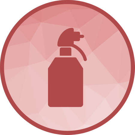 Perfumes, spray, bottle icon vector image. Can also be used for barber s tools. Suitable for web apps, mobile apps and print media.