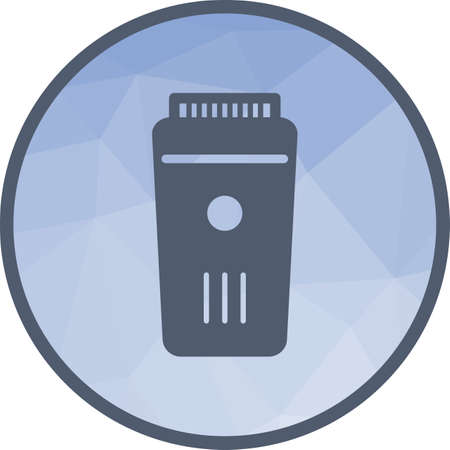 Trimmer, barber, hair icon vector image.Can also be used for barber s tools. Suitable for mobile apps, web apps and print media.