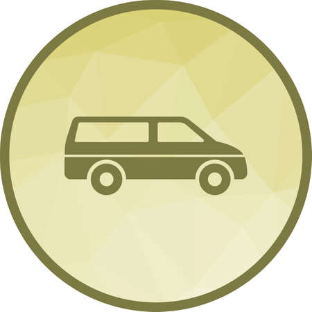 Van, travel, luggage icon vector image. Can also be used for hotel and restaurant. Suitable for web apps, mobile apps and print media.