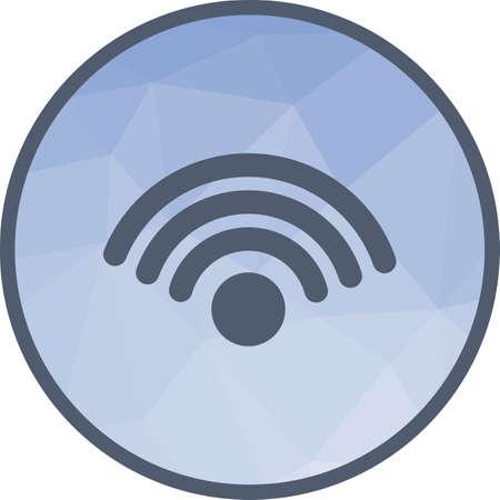 WiFi Connection Icon Illustration