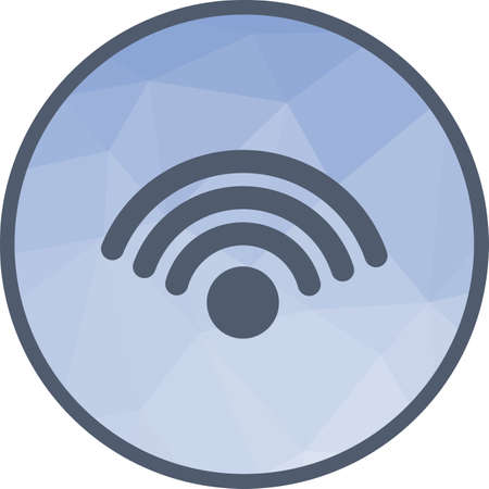 WiFi Connection Icon Ilustrace