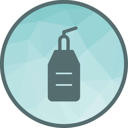 Cream, bottle, skin icon vector image. Can also be used for barber s tools. Suitable for web apps, mobile apps and print media.