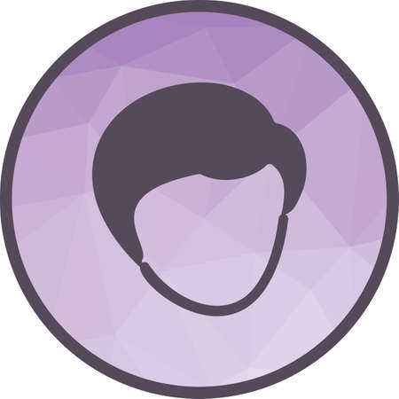 Hair, short, beautiful icon vector image. Can also be used for barber s tools. Suitable for web apps, mobile apps and print media.