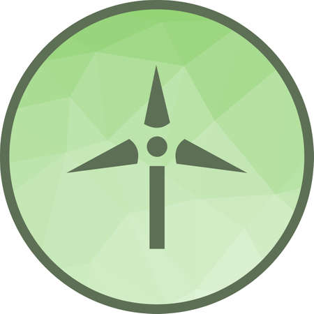 Windmill, wind, farm icon vector image.Can also be used for ecology. Suitable for mobile apps, web apps and print media.