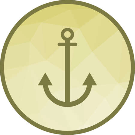 Anchor, link bulding icon vector image. Can also be used for seo and development services. Suitable for use on web apps, mobile apps and print media.