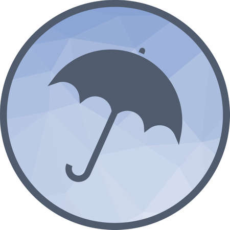 Umbrella, holding, protection icon vector image. Can also be used for ecology. Suitable for use on web apps, mobile apps and print media.