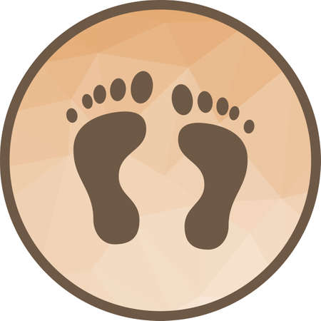Feet, nail, body icon vector image. Can also be used for ecology. Suitable for use on mobile apps, web apps and print media.