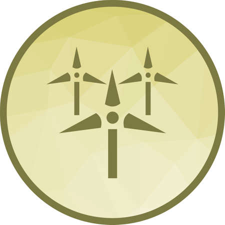 Windmills, wind, farm icon vector image.Can also be used for ecology. Suitable for mobile apps, web apps and print media.