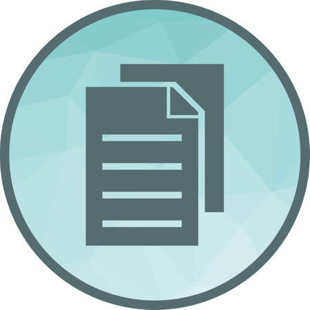 Copiar, datos, duplicar la imagen del vector del icono. También se puede utilizar para la edición de texto. Adecuado para aplicaciones móviles, aplicaciones web y medios impresos.