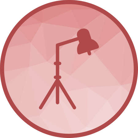 Studio, set, photography icon vector image. Can also be used for photography. Suitable for use on web apps, mobile apps and print media. Illustration