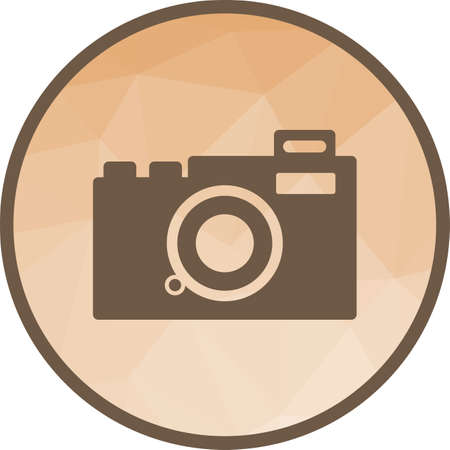 Camera, video, film icon vector image. Can also be used for hipster. Suitable for use on web apps, mobile apps and print media.