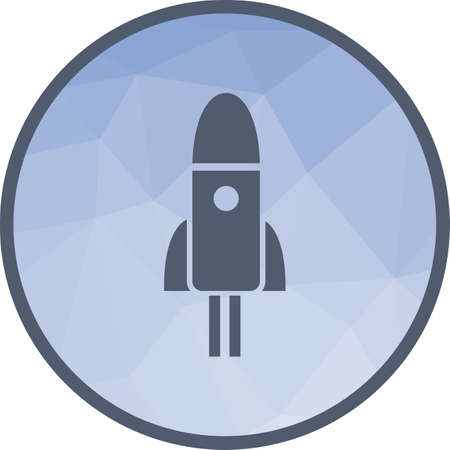 Space, rocket, shuttle icon vector image.Can also be used for astronomy. Suitable for use on web apps, mobile apps and print media.