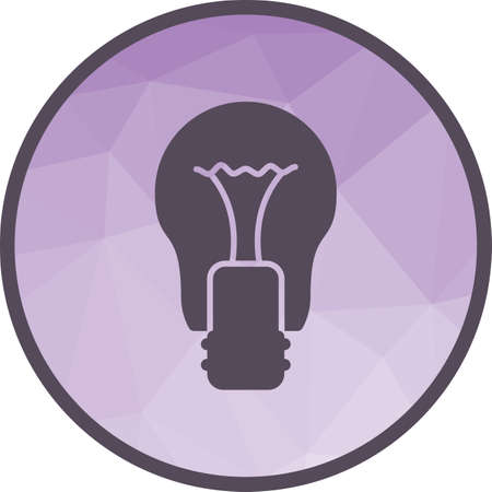 Bulb, light, electricity icon vector image.Can also be used for home. Suitable for mobile apps, web apps and print media. 向量圖像
