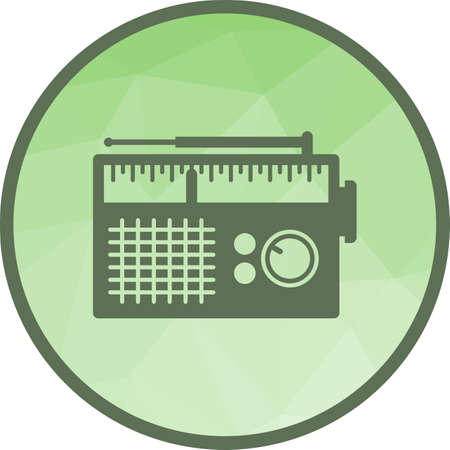 Radio, antenna, style icon vector image.Can also be used for home. Suitable for mobile apps, web apps and print media.