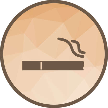 Smoking, sign, cigarette icon vector image.Can also be used for shopping. Suitable for web apps, mobile apps and print media.