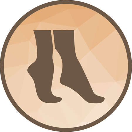 Tip, feet, step icon vector image. Can also be used for spa. Suitable for mobile apps, web apps and print media.