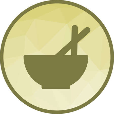 Kitchen, food, chinese icon vector image. Can also be used for kitchen. Suitable for use on web apps, mobile apps and print media.