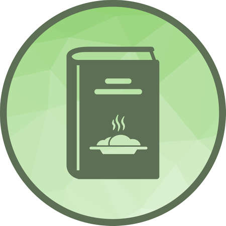Kitchen, recipes, food icon vector image. Can also be used for kitchen. Suitable for use on web apps, mobile apps and print media. Ilustracja