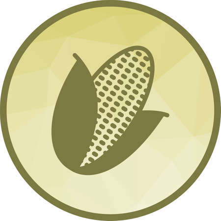 Corn, sweet, yellow icon vector image. Can also be used for fruit vegetables. Suitable for mobile apps, web apps and print media.
