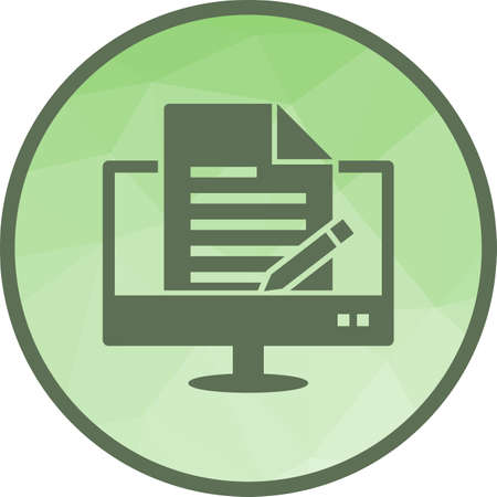 Content, management, system icon vector image. Can also be used for software development. Suitable for use on web apps, mobile apps and print media.