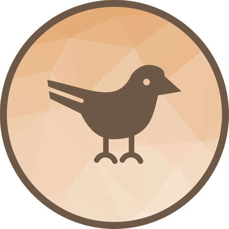 Bird, spring, nature icon vector image. Can also be used for spring. Suitable for use on web apps, mobile apps and print media