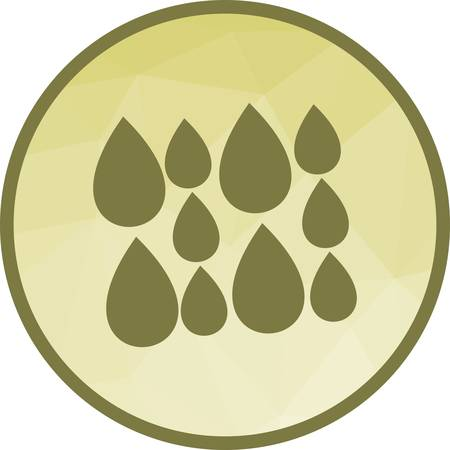 Rain, clouds, rainy icon vector image. Can also be used for spring. Suitable for use on web apps, mobile apps and print media.