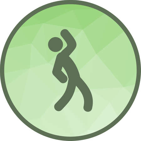 Stretch, hip, exercise icon vector image. Can also be used for people. Suitable for use on web apps, mobile apps and print media.