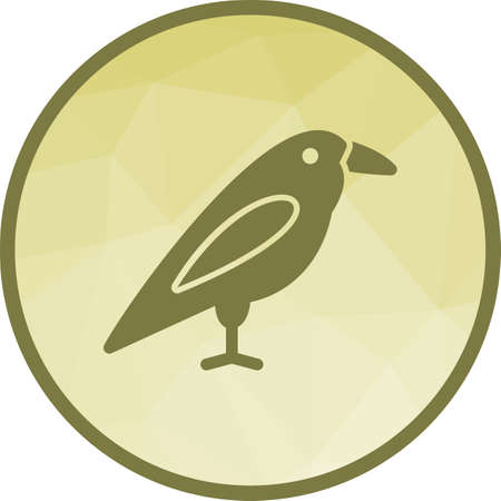Autumn, bird, sound icon vector image. Can also be used for autumn. Suitable for mobile apps, web apps and print media.