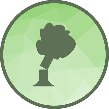 Tree Falling Icon