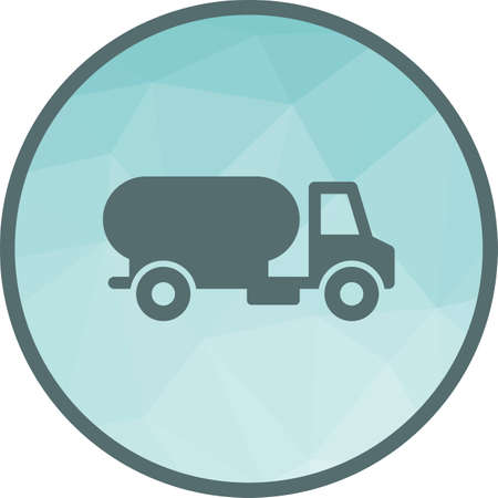 Water, truck, community icon vector image. Can also be used for community. Suitable for mobile apps, web apps and print media. Illustration
