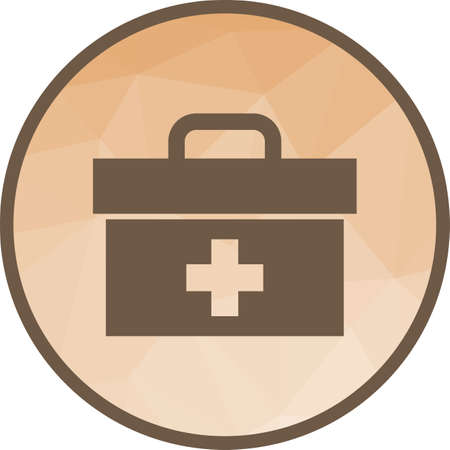 Bandage, medical, cotton icon vector image. Can also be used for olympics. Suitable for mobile apps, web apps and print media. Illustration