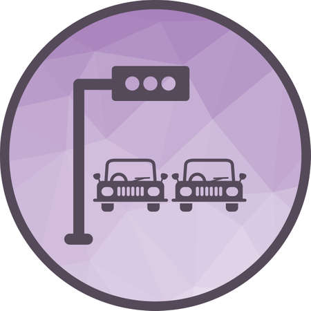 Traffic, light, signal icon vector image. Can also be used for town. Suitable for mobile apps, web apps and print media.