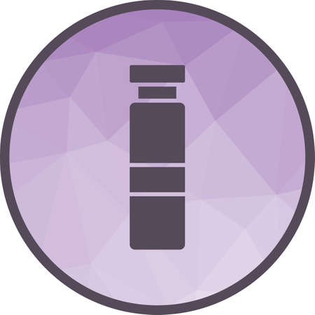 Syringe, dentist, anesthetic icon vector image. Can also be used for dentist equipment. Suitable for mobile apps, web apps and print media. 向量圖像
