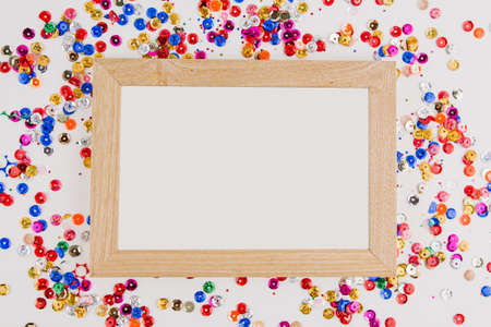 a background frame invitation to the holiday greeting card Valentine's day