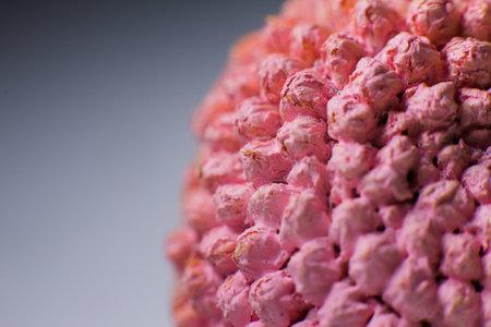 a Macrocosm baketiria virus closeup background medicine