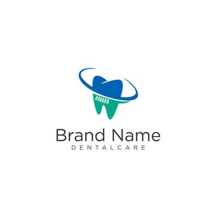 Healthy Teeth Logo Icon Template. Dental Care Logo Design Vector Stock 写真素材 - 150640371