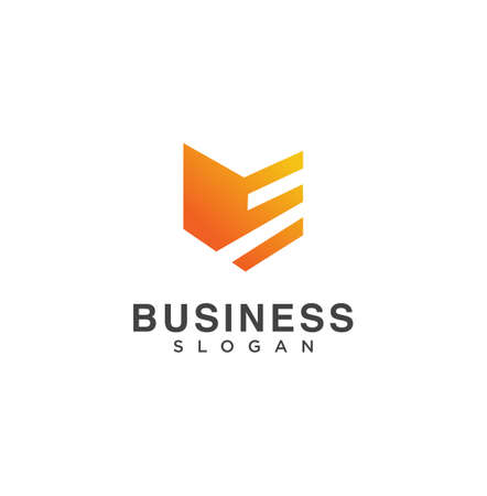 Modern Shield Logo Design Vector Stock. Security Logo Vector Design Illustration. Security Guard Secure Logo Design 일러스트