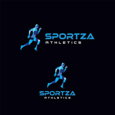 Run Logo Design vector Stock symbol .Running logo sport concept . running marathon Logo Design Template .