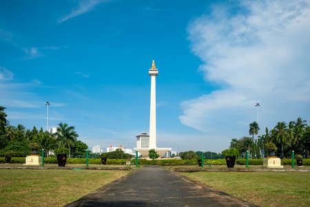 A natural beauty of Jakarta famous for being the oldest monument in the city faithfully standing tall in any situation,it looks so beautiful