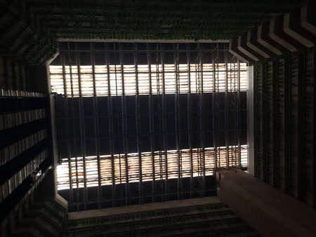 architecture: Interior of an architecture Stock Photo