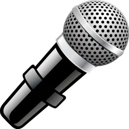 Eine Abbildung mit Mikrofon Illustration