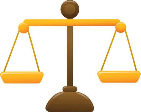 Eine Abbildung mit einer Skala Illustration