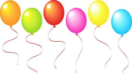 Eine Abbildung mit festlichen Ballons