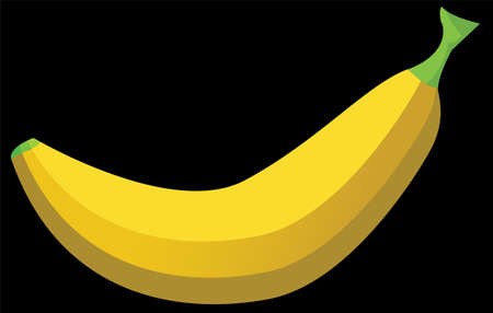 An illustration with banana