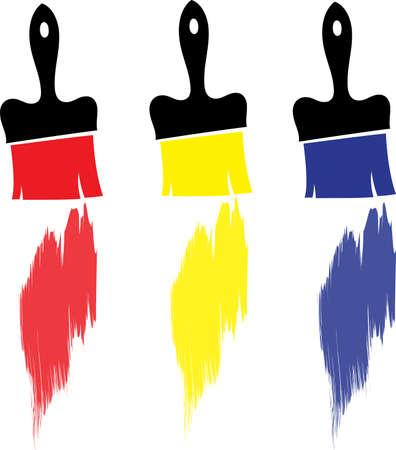 Eine Abbildung mit B�rsten Illustration