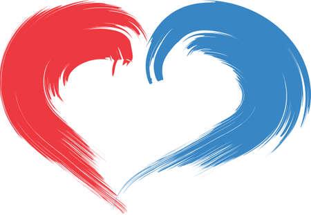 Eine Illustration mit Herz